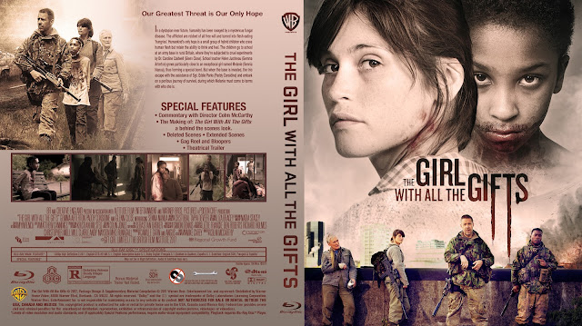 The Girl With All The Gifts Bluray Cover