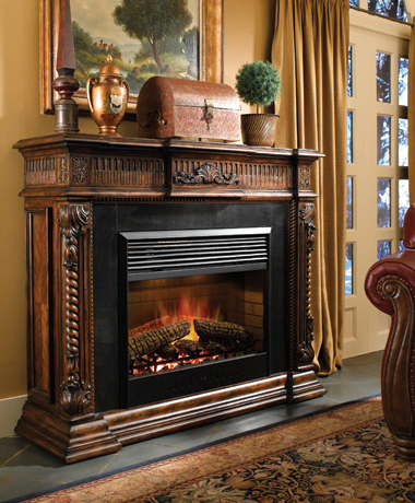 Fireplace mantels as a center point in the Interior Design ...