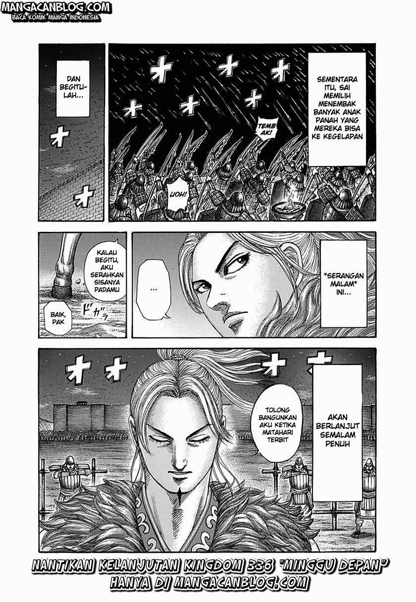 Baca Komik Manga Kingdom Chapter 335 Komik Station