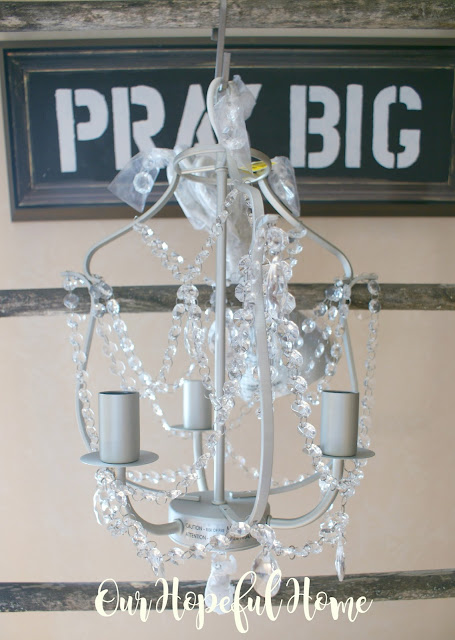 Ikea Kristaller chandelier found at Goodwill for $6.99!