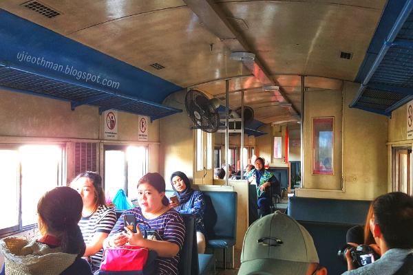 gerabak keretapi dari beaufort ke tenom