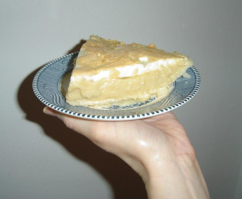A Piece of  My Butterscotch-Mallow Pie Image