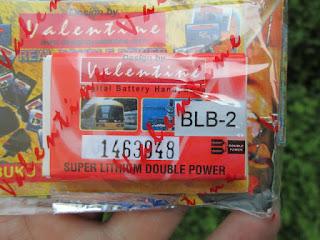 baterai Nokia jadul BLB-2