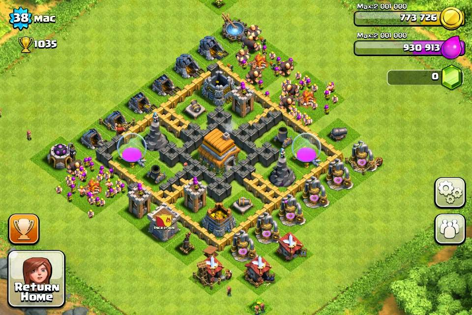 Town Hall level 6