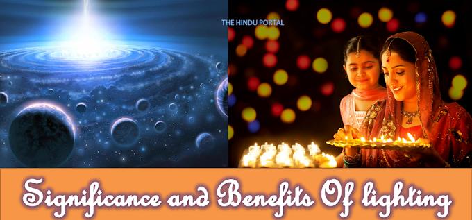 Significance and Benefits Of lighting Deepa-Deeparadhan