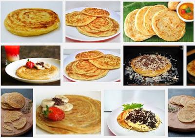 Resep Roti Maryam Empuk Mudah dan Praktis