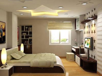 phòng ngủ chung cư mini Tây Hồ