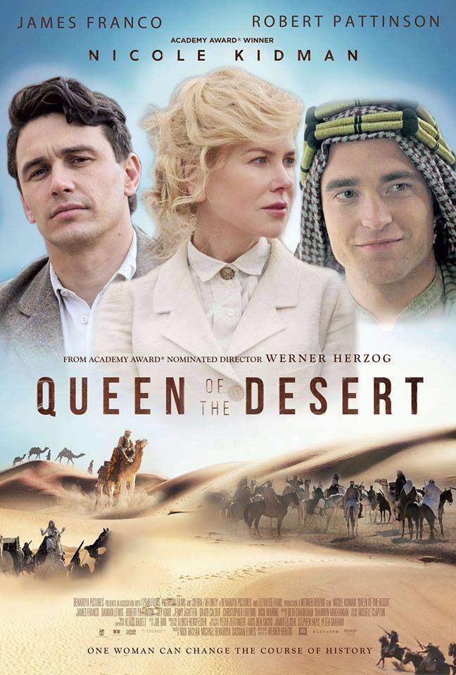 Review | 'Queen of the Desert  - The Washington Post