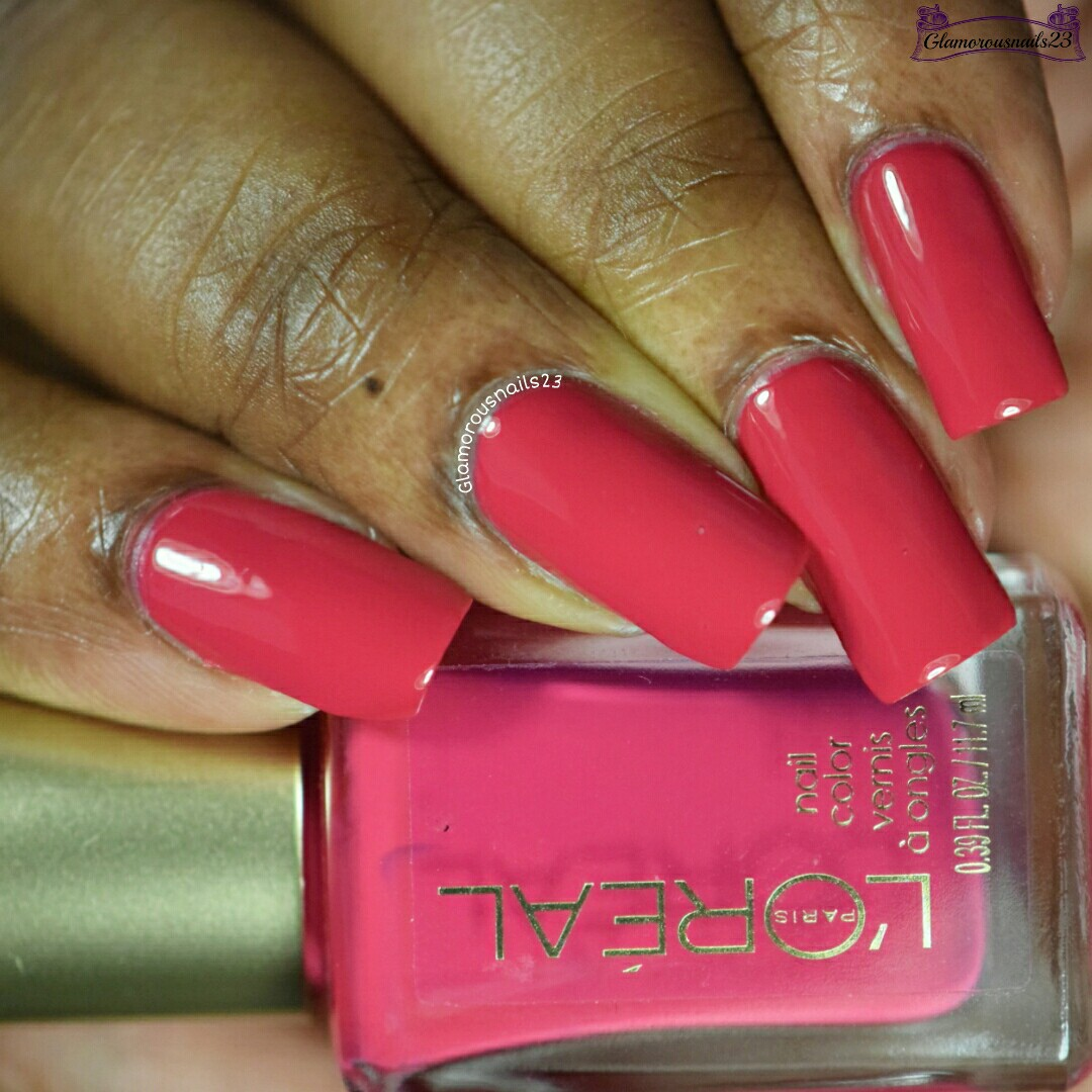 L\'Oreal Crazy For Chic Swatches & Review - Glamorousnails23