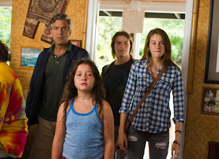 the descendants-george clooney-amara miller-nick krause-shailene woodley