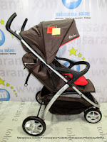 CocoLatte CL904 Trip Lightweight Baby Stroller