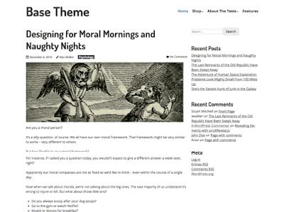 Sitepoint Base WordPress Theme
