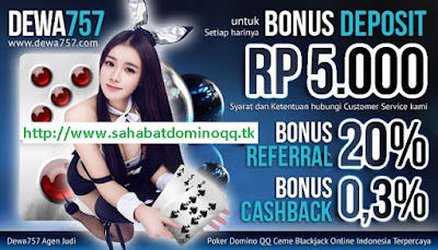 Dewa757.net Agen Poker Domino 99 Ceme Blackjack Online Indonesia