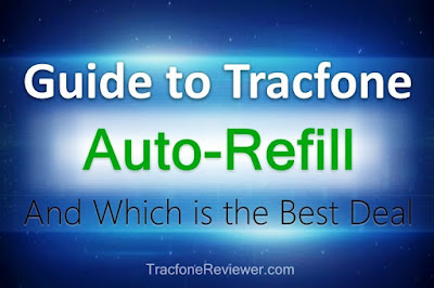 how does tracfone auto refill work