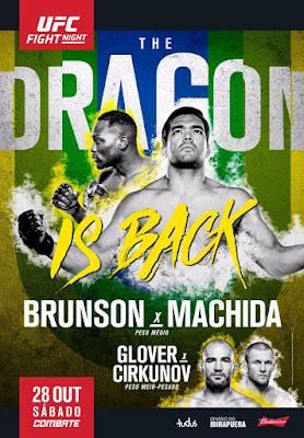 UFC Fight Night Brunson Vs. Machida 2017 DVDCustom HD Latino