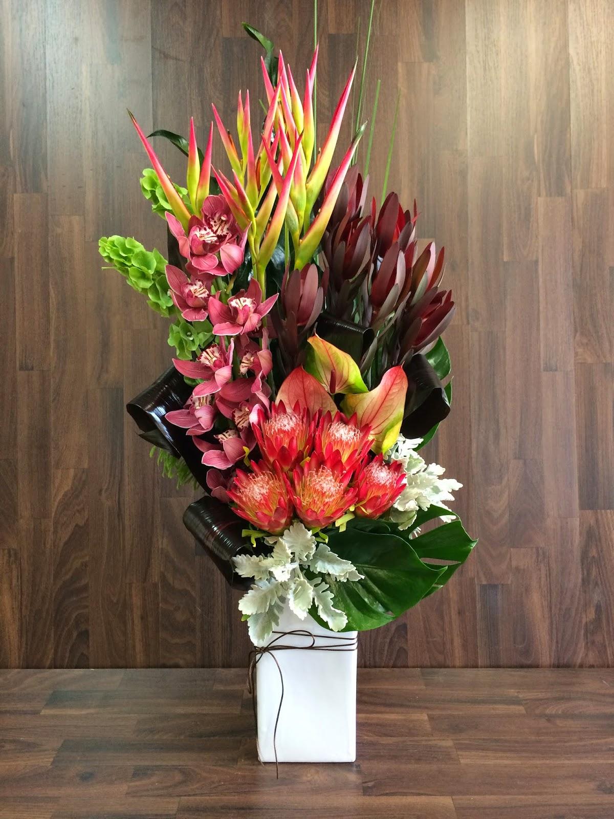 Urban flower australian native arrangements for