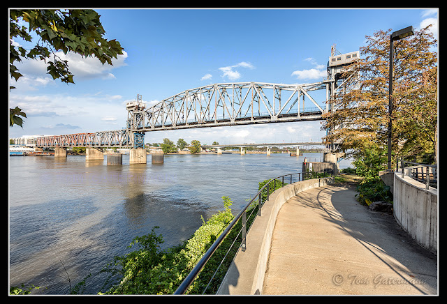 The west side of Junction Bridge - Little Rock, AR - 10/12/16