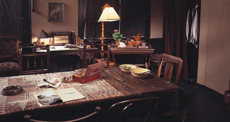 Anne Frank S House Kitchen