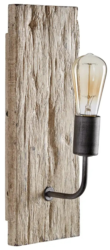 Driftwood Wall Sconce Bulb Lamp