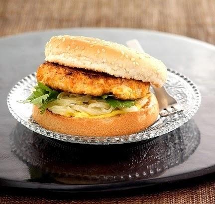 hamburguesa de pollo