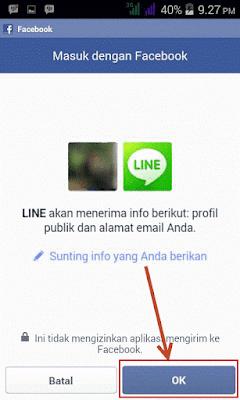 cara membuat akun line