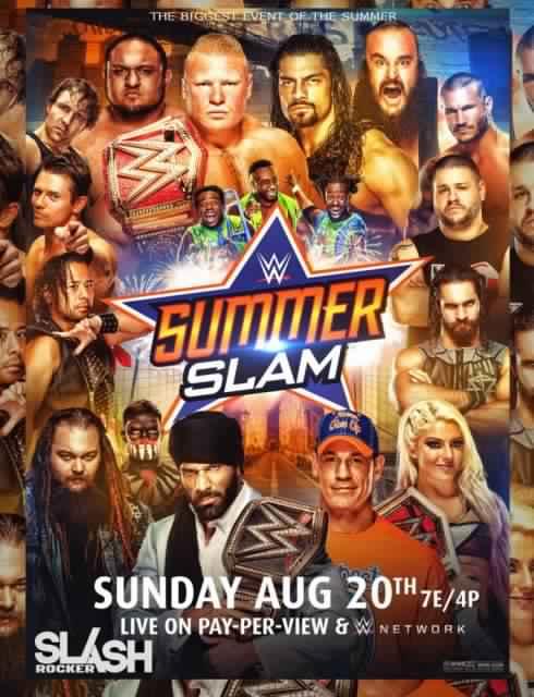 مشاهدة عرض WWE SummerSlam 20-8-2017 مترجم
