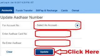 how to link aadhaar card to hdfc bank account