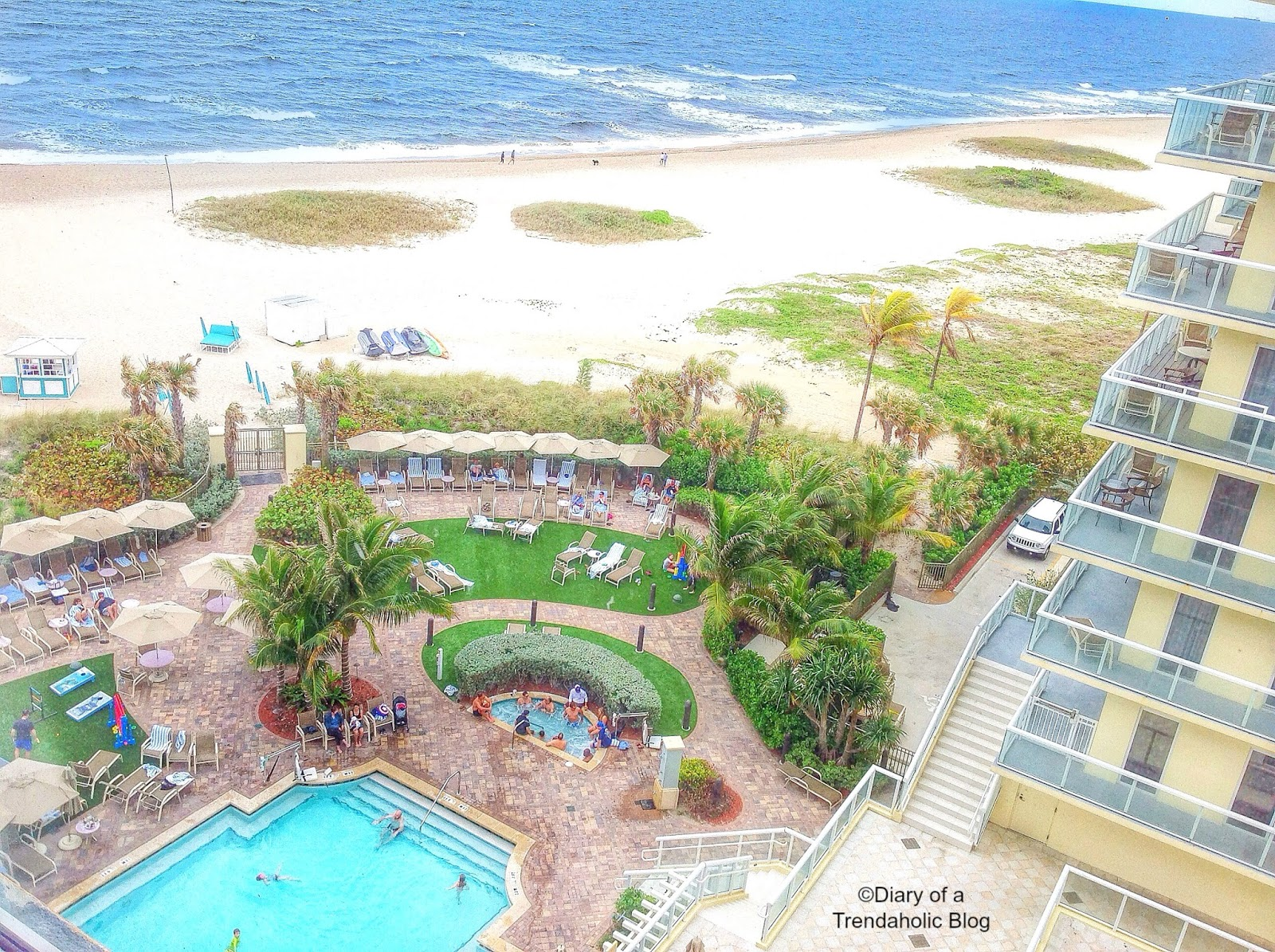 Diary Of A Trendaholic Fort Lauderdale Marriott Pompano Beach Resort And Spa Review