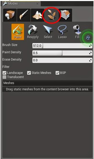 UE4 Tools and Brushes | OnlineDesignTeacher