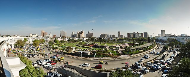 Connaught Place Skyline