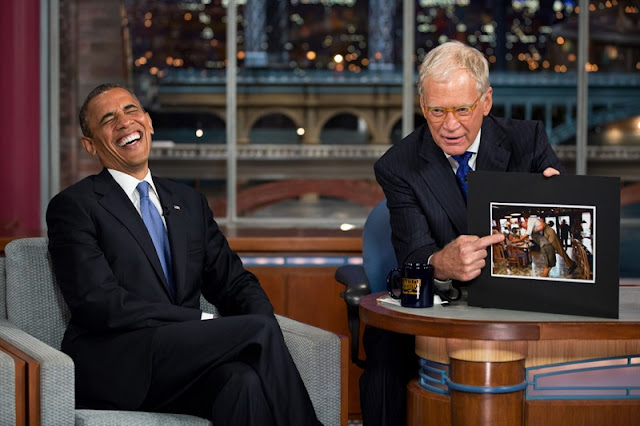 He's back! President Obama will be the first guest on David Letterman's new Netflix talk show