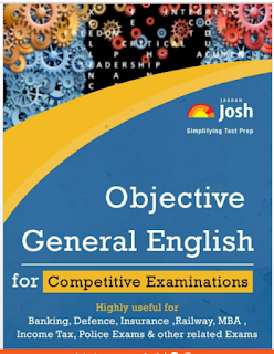 Objective General English for Competitive Examination - Jagran Josh Download free