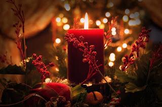 Bougies Noël