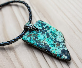 Turquoise has many powerful healing properties.