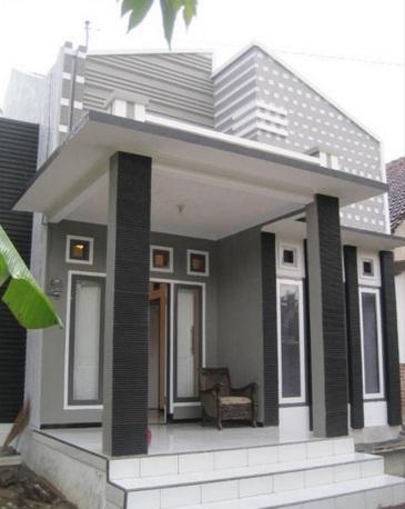 Model Cor Dak Teras : model, teras, Gambar, Rumah, Minimalis, Depan, Terbaru