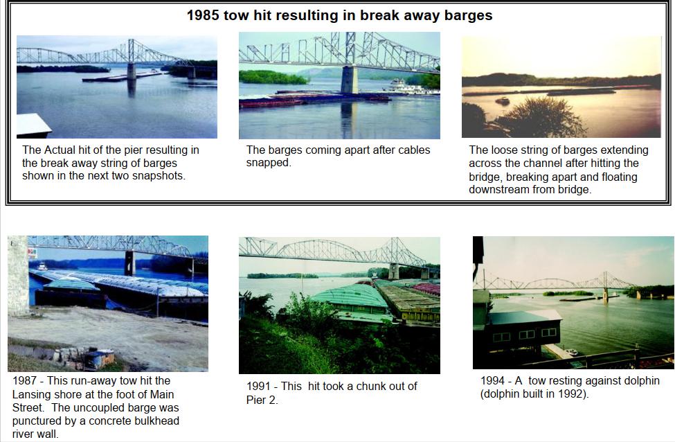 Industrial History: WI-82 1931 Black Hawk Bridge over Mississippi