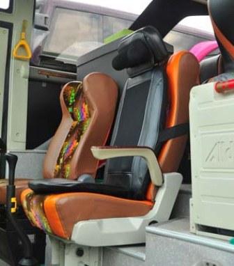 Kursi Driver Bus Pariwisata Shelota