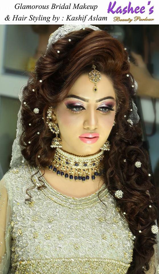Best Bridal Hairstyles 2017 For Pakistani Women Fashion Style