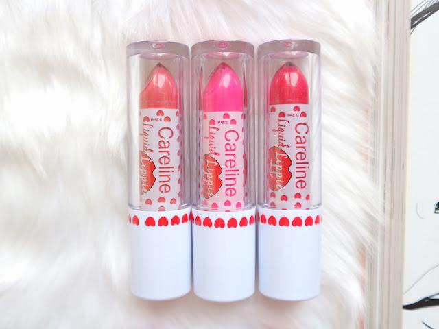 Careline Liquid Lipstick Review Swatch
