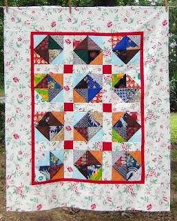 Summer Roses Quilt Top