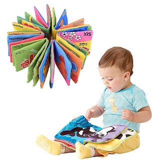 Livro de tecido para bebês barato