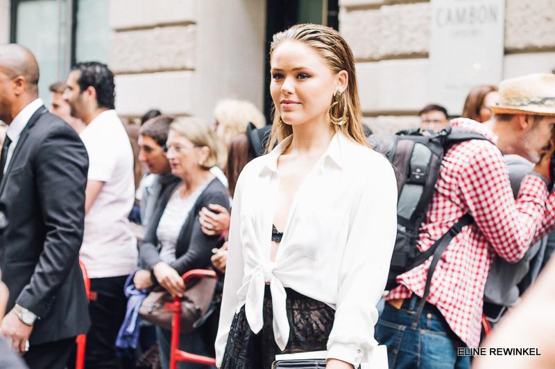 Paris Fashion Week Elie Saab Kristina Bazan Kayture