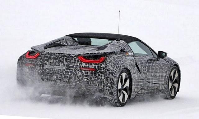 2018 BMW I8 Spyder Concept