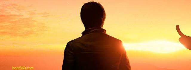 Ảnh bìa Facebook cô đơn, buồn - Alone Cover timeline FB, boy thất tình cô đơn buồn