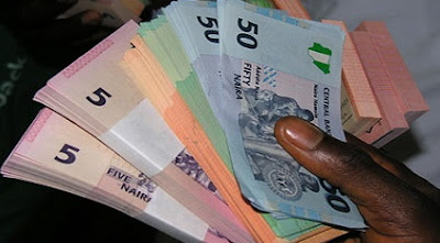 new naira notes seller tinubu square lagos