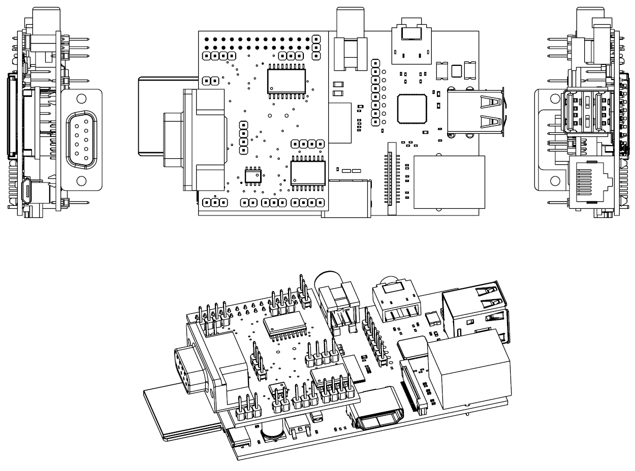 Raspberry Pi Project Schematics, Raspberry, Free Engine