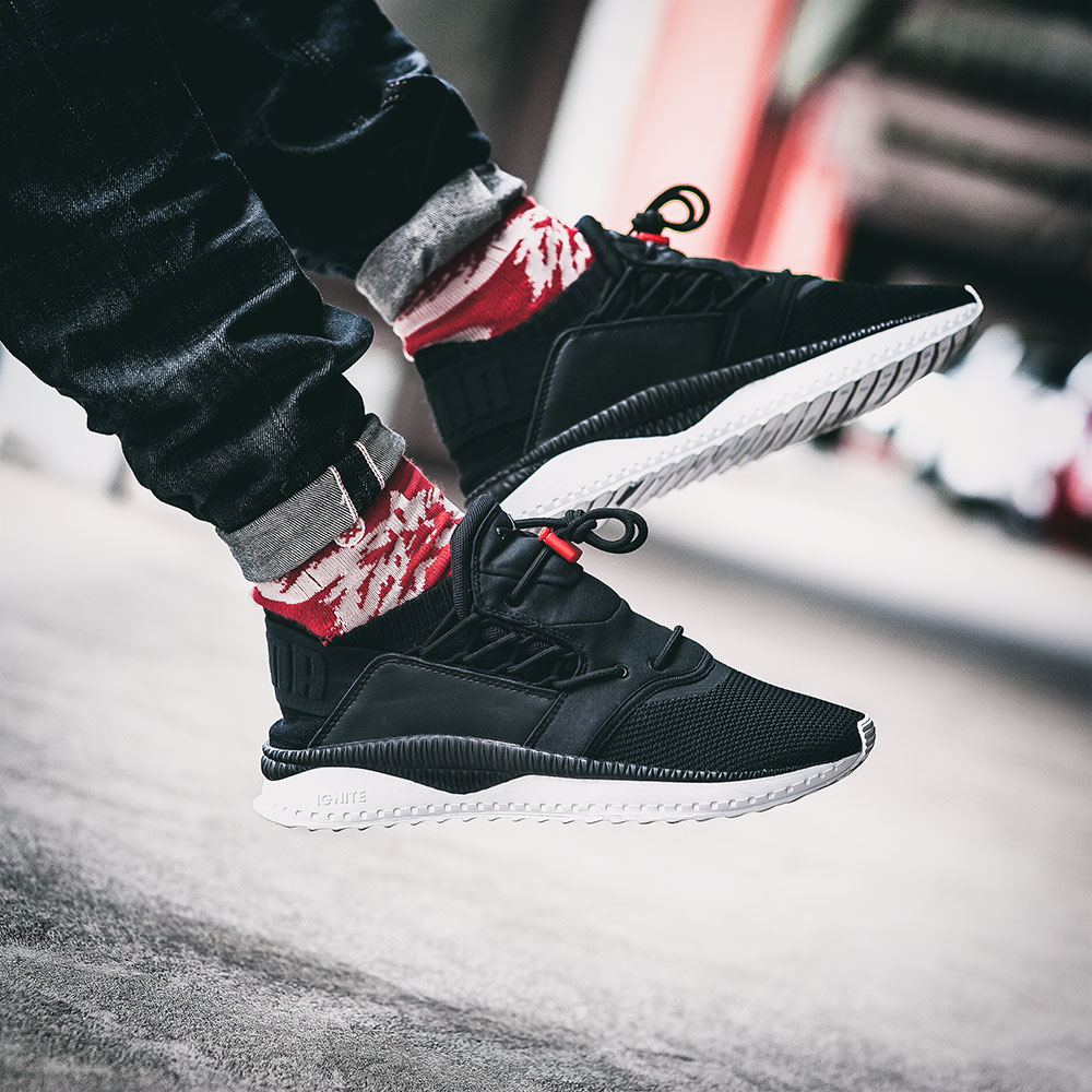 Puma TSUGI Shinsei Black Sneakers by Tom Cunningham