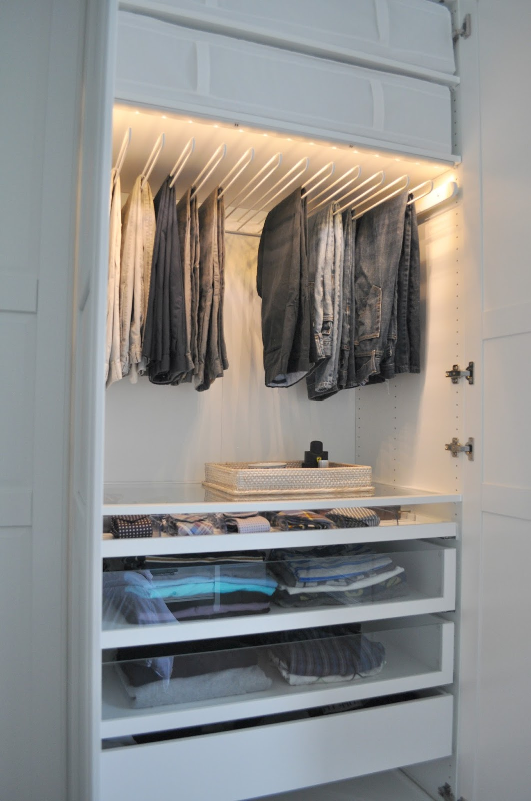 getting a customized look with ikea pax wardrobes bedroom