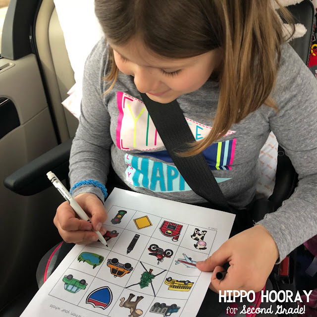 A blog post from Hippo Hooray for Second Grade