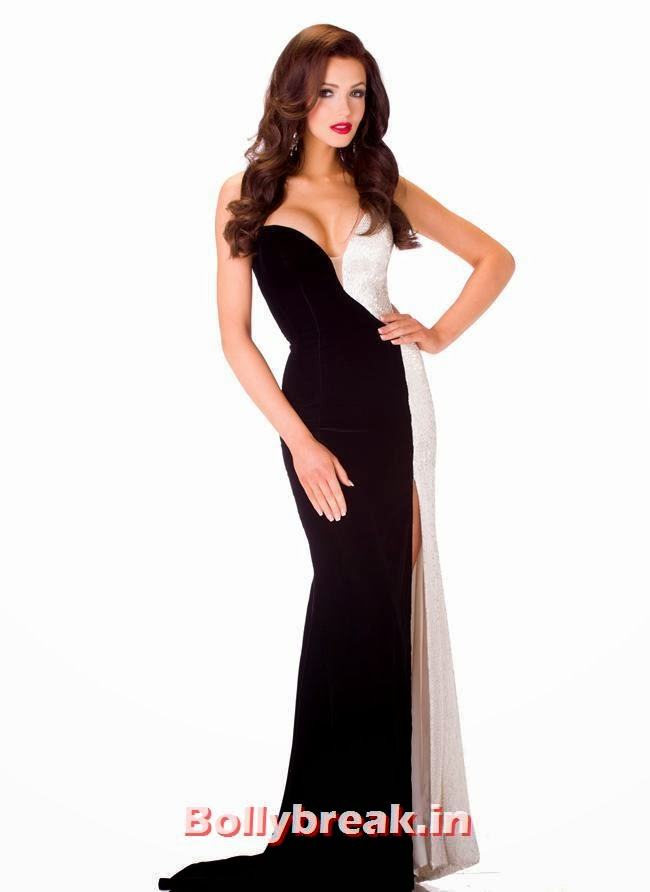 Miss Ukraine, Miss Universe 2013 Evening Gowns Pics
